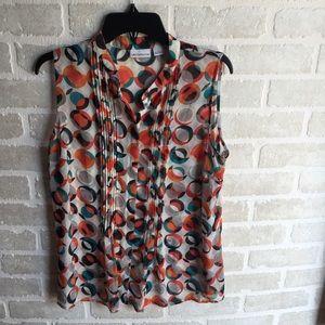 Women's Large sleeveless Liz Claiborne shirt